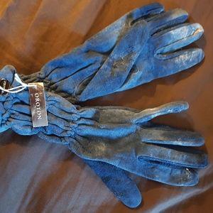 Oroton suede gloves
